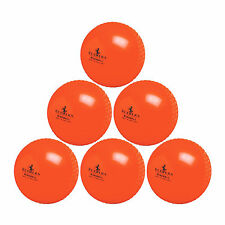 11.99 NEW   3   Readers Windball Cricket Balls  ORANGE adult full size FREEPOST