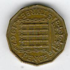 1962 ELISABETTA II British Soldini VECCHIO RARO DA COLLEZIONE le monete buone condizioni