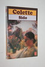 Sido - Colette - Livre de poche n° 373