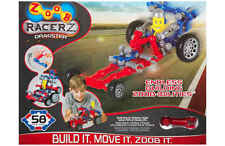 ZOOB RACERZ - DRAGSTER 58 PIECES BRAND NEW BUILDING TOY BUILD IT MOVE IT ZOOB IT