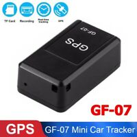 GF07 Mini Vehicle GPS Tracker Long Standby Magnetic Real Time Car Locator Device