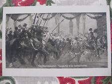 "CPA tableau Salon peinture 1906 Hoffbauer ""Triomhe d'un Condottière"" cavalerie"