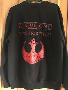 Star Wars story Rogue One Construction Genuine Crew sweatshirt