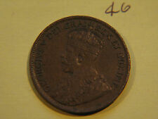#13, 1919 Canada, Canadian Large Cent Coin , Canadian One Cent