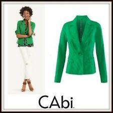 Cabi Green Lightweight Jacket Size Small 5097