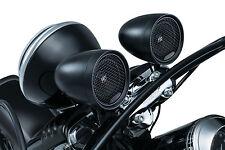 Road Thunder Speaker Pods by MTX Satin Black Handle bar mount 1 Inch free Ship