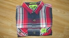 BNWT New SUPERDRY Lumberjack Twill Check Pattern Long Sleeve Shirt Size M Medium