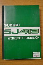 SUZUKI sj413 originale istruzioni di manutenzione NUOVO OVP legato