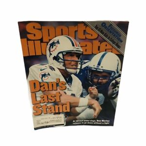 Sports Illustrated Magazine December 13, 1999 Dan Marino Dolphins Cover