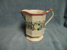 """Avon Sweet Country Harvest Pitcher 7"""" tall New"""