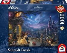Beauty and the Beast: Schmidt Disney Premium Thomas Kinkade Jigsaw Puzzle 1000 p