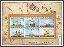 Antigua 1996 Sailing Ships 1x mini sheet MNH