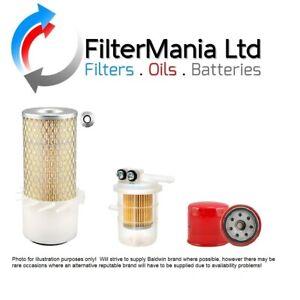 PELJOB EB12.4 FILTER KIT WITH MITSUBISHI L3E ENGINE (Air, Oil, Fuel Filter)