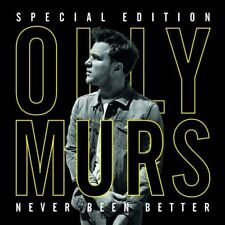 OLLY MURS Never Been Better Special Edition CD/DVD BRAND NEW NTSC Region 0