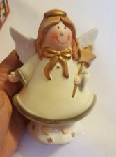CHRISTMAS XMAS ANGEL CERAMIC table decoration pre-owned