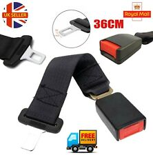 36CM UNIVERSAL CAR AUTO SAFETY SEAT BELT EXTENSION EXTENDER SUPPORT BUCKLE NEW
