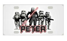 STORM TROOPERS STAR WARS MINI LICENSE PLATE Any Name Personalized Kids Bicycles