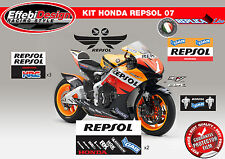Adesivi/Stickers KIT HONDA CBR 900 1000 600 RR REPSOL MOTOGP TOP QUALITY!