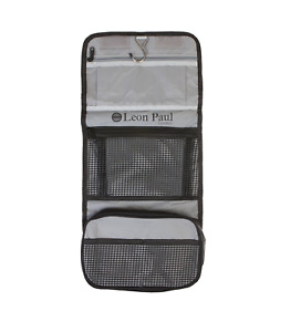 LEON PAUL London WASH BAG Brand New Designed with Complete Practicality in Mind!