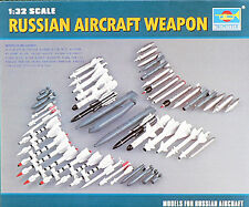 Trumpeter 1/32 Russian Aircraft Weapons # 03301