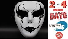 Mask Adult Mens Guy Fawkes Anonymous Occupy Halloween Ghost dance fancy Horns