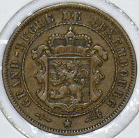 Luxembourg 1908 2 1/2 Centimes 291223 combine shipping