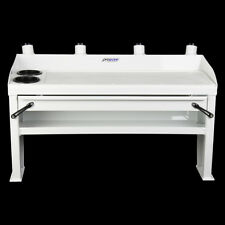 Bait board with Drawer and Shelf - 920 wide - White