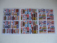 3x Mini Sticker Bomb Aufkleber Decal Automodelbau 1:10 1:20 Motorcross Racing