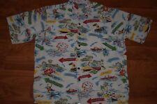 90s Reyn Spooner 100% Rayon Hawaiian Shirt Florida Hawaii California Surfing Lg