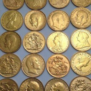 Gold Half Sovereign - Best Value Bullion.