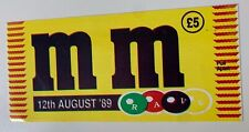 More details for mm m&m rave 12th august 1989 paul anderson noel watson judge jules rave flyer