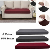 Fabric Slipcovers Protector Sofa Seat Cushion Cover Couch Stretchy Protection A