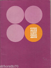 SING A NEW SONG Christian Sheet Music / Book