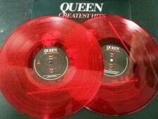 "12"" Vinyl album Queen Greatest hits (USA) Red colored 2018"