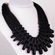 New Fashion Black geometry Chain Elegant Style Bib Statement Chunky Necklaces