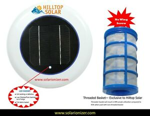 Solar Pool Ionizer 7.0V LED Replacement Head unit only -Upgrade existing Unit