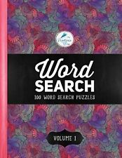 Word Search: 100 Word Search Puzzles: Volume 1: A Unique Book With 100 Stimul...