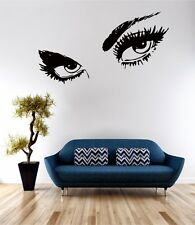 Giant Eyes Wall Art Sticker Quote Decal Vinyl Transfer