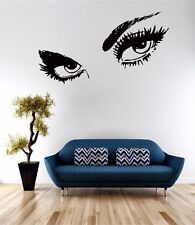 Gigante Ojos arte de pared calcomanía cita de vinilo de transferencia