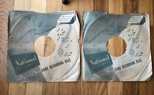 Vintage National Home Recording Disc Sleeve (2)