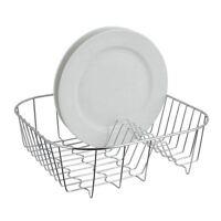 Premier Housewares Dish Drainer, Chrome