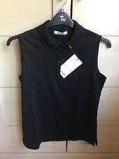 Lacoste sleeveless women's black top