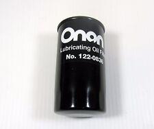 Oil Filter 122-0836 Fits HGJ Series Marquis Onan Genuine OEM RV Generator