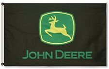 New ListingJohn Deere Farming Tractor Equipment Lawn Oil Gas Outdoor Flag Banner 3 x 5 Feet