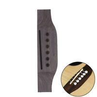 Ponte in legno per chitarra acustica per pezzi di ricambio per chitarra acu C LO