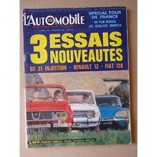Automotive no.282,Fiat 128,Citroën DS21 injection,Renault 12,Exceptionally,