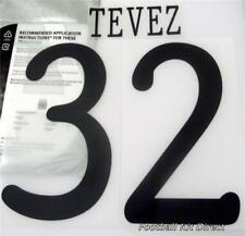 Manchester City Tevez 32 Uefa Champions League 2011/12 Football Shirt Name Set