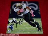 MARK INGRAM NEW ORLEANS SAINTS SIGNED 8X10 FOOTBALL PHOTO 2  GLOBAL CERTIFIED