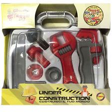Set attrezzi da lavoro giocattolo per bambino gioco idraulico utensili valigetta