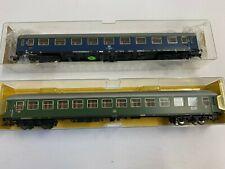 Fleischmann HO scale DB coaches x 2